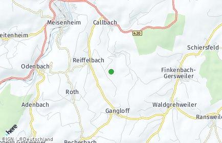 Stadtplan Schmittweiler bei Callbach