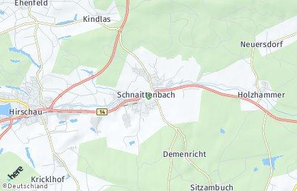 Stadtplan Schnaittenbach