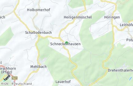 Stadtplan Schneckenhausen