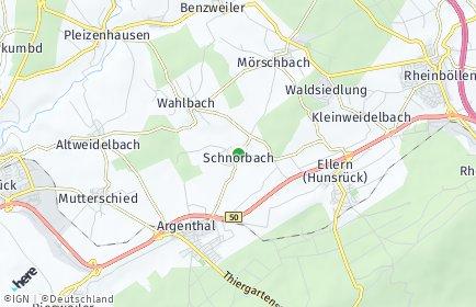Stadtplan Schnorbach