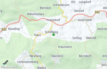 Stadtplan Schöfweg