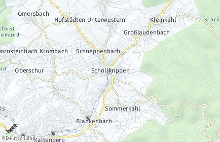 Stadtplan Schöllkrippen
