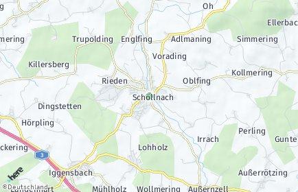 Stadtplan Schöllnach
