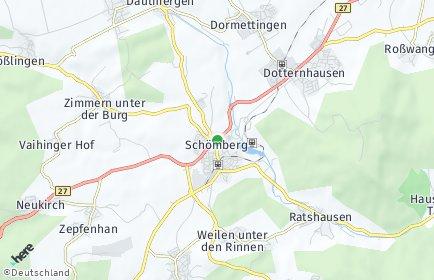 Stadtplan Schömberg (Zollernalbkreis)