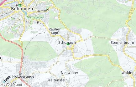 Stadtplan Schönaich