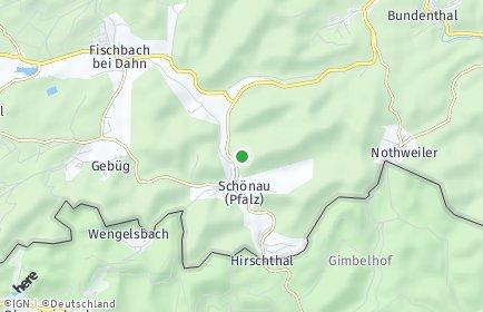 Stadtplan Schönau (Pfalz)