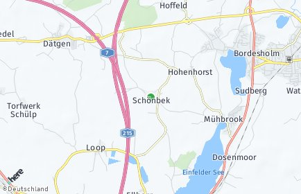 Stadtplan Schönbek