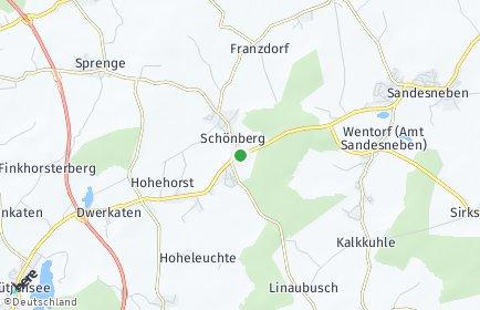 Stadtplan Schönberg (Lauenburg)