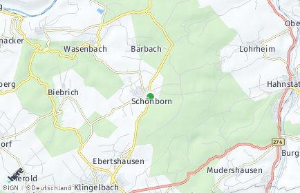 Stadtplan Schönborn (Rhein-Lahn-Kreis)