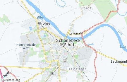 Stadtplan Schönebeck (Elbe)