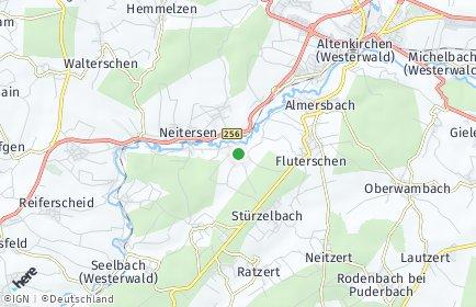 Stadtplan Schöneberg (Westerwald)