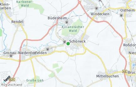 Stadtplan Schöneck (Hessen)