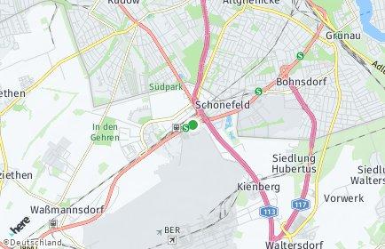 Stadtplan Schönefeld
