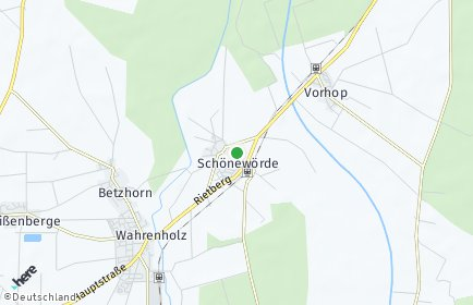 Stadtplan Schönewörde