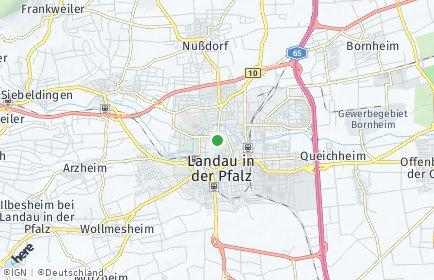 Stadtplan Südliche Weinstraße
