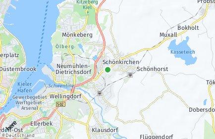 Stadtplan Schönkirchen