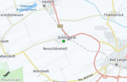 Stadtplan Schönstedt