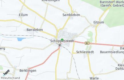 Stadtplan Schöppenstedt