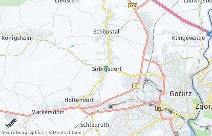 Stadtplan Schöpstal