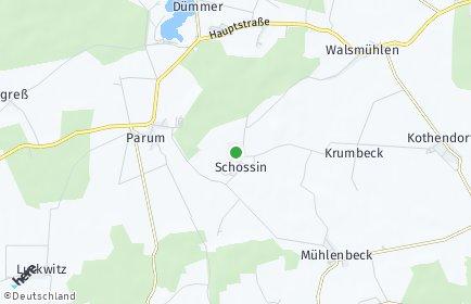 Stadtplan Schossin