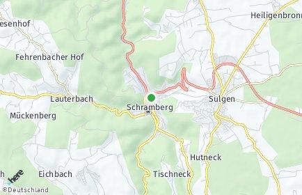 Stadtplan Schramberg