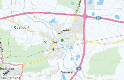 Stadtplan Schüttorf