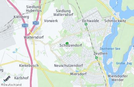 Stadtplan Schulzendorf