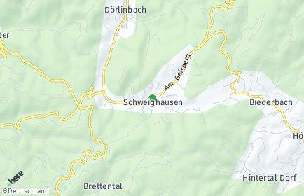 Stadtplan Schuttertal