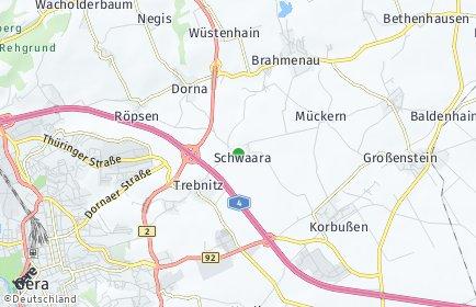 Stadtplan Schwaara