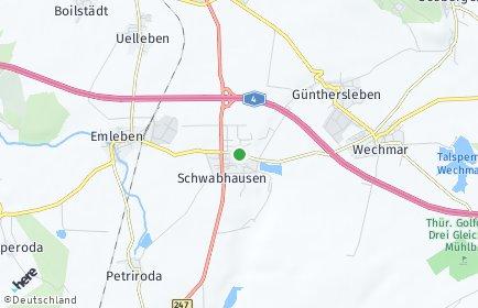Stadtplan Schwabhausen (Thüringen)