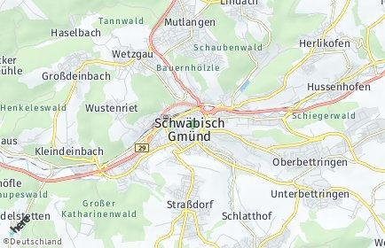 Stadtplan Schwäbisch Gmünd