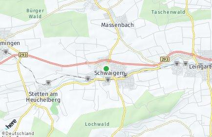 Stadtplan Schwaigern