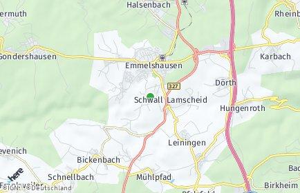 Stadtplan Schwall