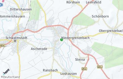 Stadtplan Schwalmstadt