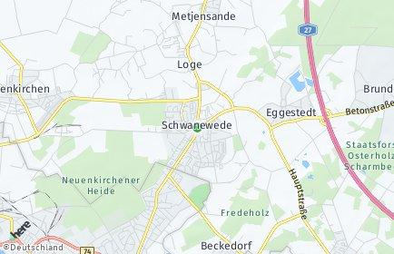 Stadtplan Schwanewede