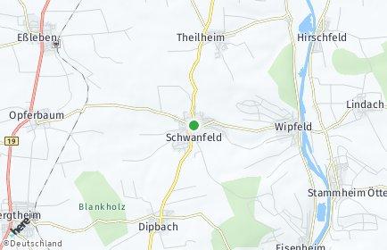 Stadtplan Schwanfeld