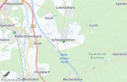 Stadtplan Schwanstetten