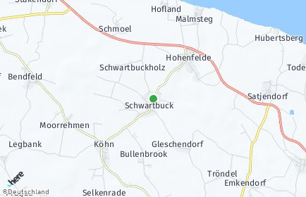 Stadtplan Schwartbuck