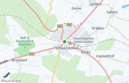 Stadtplan Schwarzenbek