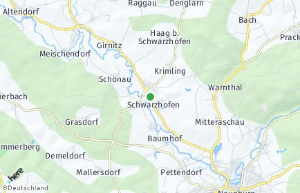 Stadtplan Schwarzhofen