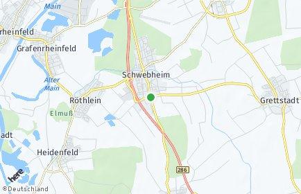 Stadtplan Schwebheim