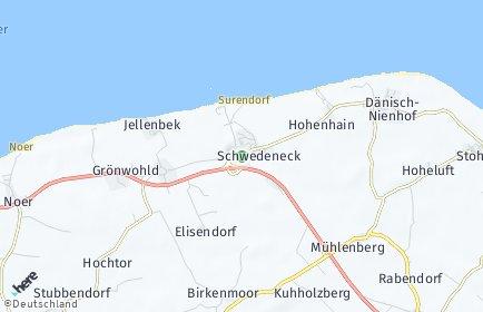 Stadtplan Schwedeneck