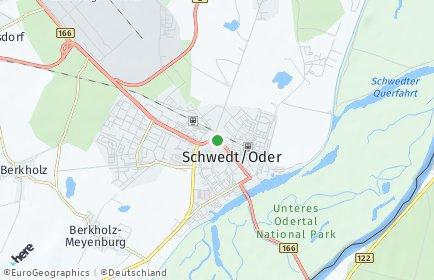 Stadtplan Schöneberg (Uckermark)