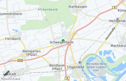 Stadtplan Schwegenheim