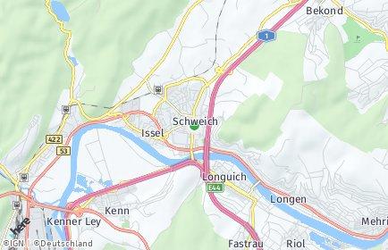 Stadtplan Schweich