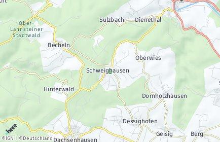Stadtplan Schweighausen