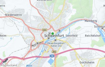 Stadtplan Schweinfurt