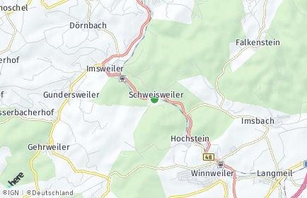 Stadtplan Schweisweiler