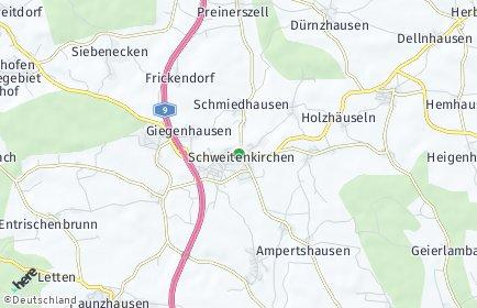 Stadtplan Schweitenkirchen