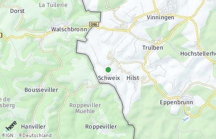 Stadtplan Schweix